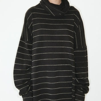 REDUCED was 285 now 250 downtown NYC cool vintage 1980s Norma KAMALI oversized slouchy sweater dress