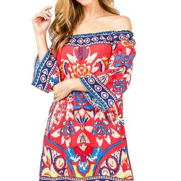 Bohemian Heat Shift Dress