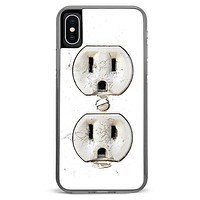 Electric Outlet iPhone X Case