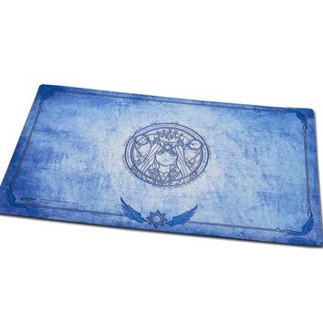 ONETOW Godness Phoebe playmat for board game magical the gathering Yu-Gi-Oh table game large mouse pad  table play mat for games blue