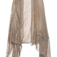 Valentino | Lace-trimmed shawl | NET-A-PORTER.COM