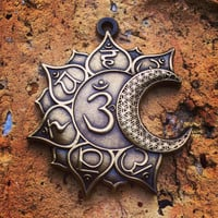Sun And Moon Chakras Pendant
