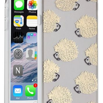 Sonix 'Clear Hedgehog' iPhone 6 Case - Metallic