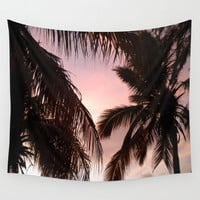 palm trees Wall Tapestry by NatalieBoBatalie