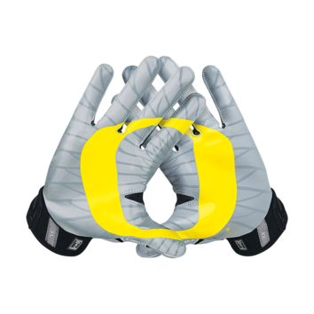Nike Vapor Jet 3.0 On-Field (Oregon) Men's Football Gloves Size Large (Black)