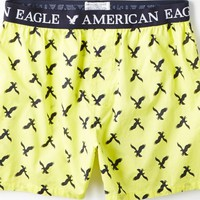 AEO Men's Eagle Boxer (Yellow)