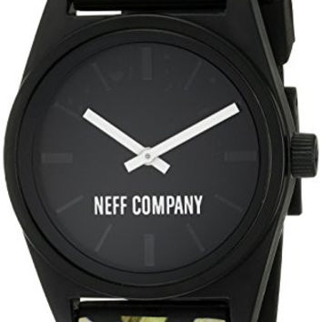 Neff Unisex NF0208FLFR Daily Wild Analog Display Japanese Quartz Multi-Color Watch