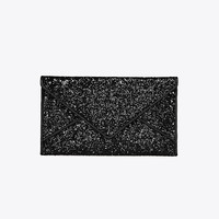 Tory Burch Glitter Envelope Pouch