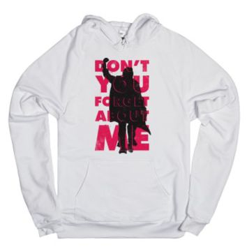 Don't You Forget About Me-Unisex White Hoodie