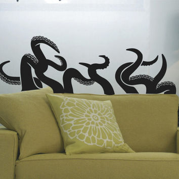 Octopus Tentacles Customizable Wall Decal