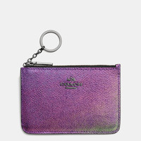 Key Pouch in Hologram Leather