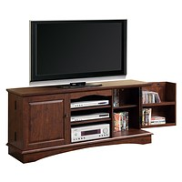 "60"" Brown Wood TV Stand Console"