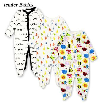 Baby Rompers Clothing 2018 New Newborn jumpsuits Baby Boy Girl Romper Next Clothes Long Sleeve Infant Product Baby Clothes 3-12M