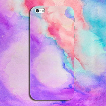 Tie-dyed Case Personal Tailor Cover for iPhone 7 7 Plus & iPhone 5s se 6 6s Plus + Gift Box-467