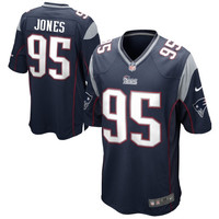 Chandler Jones New England Patriots Nike Game Jersey - Navy Blue