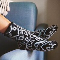 Free People Womens Let's Stay In Slipper Sock