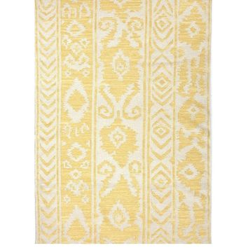 Adobe Flatweave Yellow Area Rug