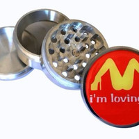 McDonald's Loving it Herb Spice Tobacco Grinder