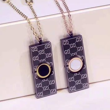 GUCCI Stylish Women Men Cool Necklace Accessories Jewelry