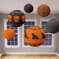 Halloween Lantern Assorted Value Pack 6-pk.