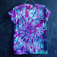 READY TO SHIP! Rainbow tie dye - medium