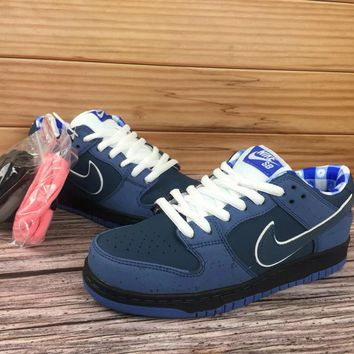DCCK Nike SB Dunk Low x Concepts 313170 342 Nike joint blue lobster Low top skate man