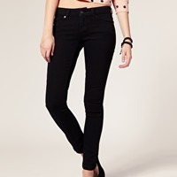 ASOS Supersoft Black Skinny Jeans at asos.com