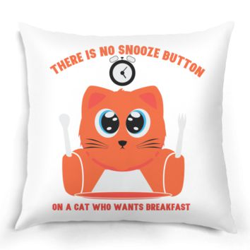No snooze button pillow