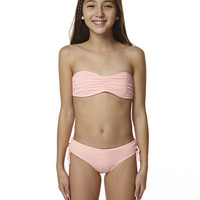 BILLABONG KIDS GIRLS SURF FUN BIKINI - MUSK