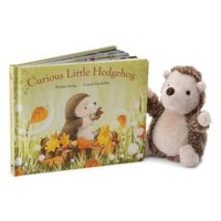Jellycat Curious Little Hedgehog Book & Plush Toy   Nordstrom
