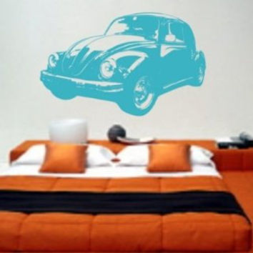 Volkswagen Bug Version 102 Wall Decal Sticker