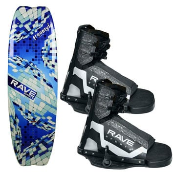 RAVE Freestyle Wakeboard w/Striker Boots 2392 2392 695742000000