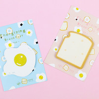 Egg and Toast Breakfast Sticky Notes