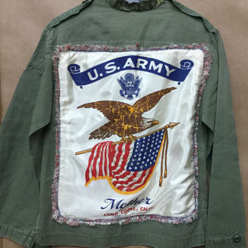 Vintage Army Jackets w/a Touch of Class