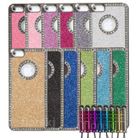 iPhone 5 Glitter Bling Rhinestone Case & by iPhone5CasesGalore