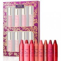 pure delights 8-piece LipSurgence™ lip set from tarte cosmetics