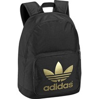 Adidas Clothing & Sports Gear - Rebel Sport - adidas Sport Originals AC Backpack Black / Metallic Gold