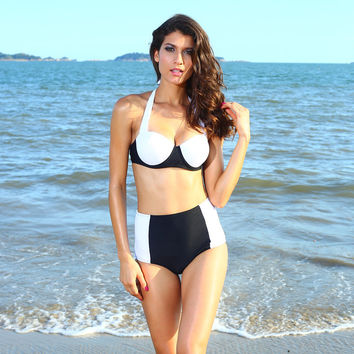 Summer Swimsuit New Arrival Hot Beach Swimwear Sexy Slim Casual Bikini [7831892615]
