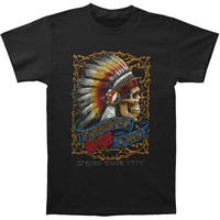 Grateful Dead Men's  Spring Tour 90 T-shirt Black Rockabilia