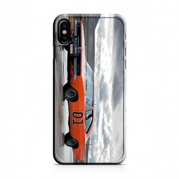 Dukes Of Hazzard (general lee) iPhone X Case