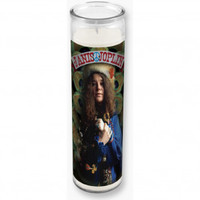 Janis Joplin Feather Kaleidascope Candles & Holders - Rockabilia
