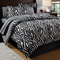 Panda Home Fashions Zebra Bed In A Bag Bed in a Bag Sets