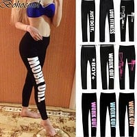 Women Leggings Elastic Comfortable Surper stretch slimming Legging Workout pants Fitness Trousers leggins