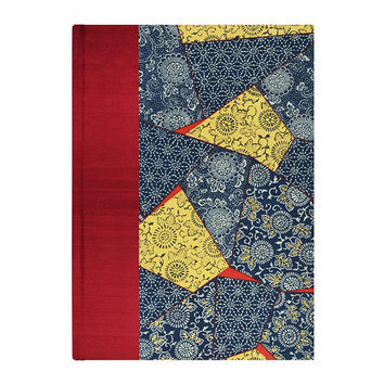 Blank Book Blank Paper Journal  PATCHWORK
