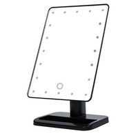 Beauty Cosmetic Make Up Illuminated Desktop Stand Mirror With 20 LED Light With Exquisite And Elegant Appearance top quality