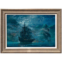Disney Framed Limited-Edition ''Moonlit Pearl'' Pirates of the Caribbean Giclée | Disney Store