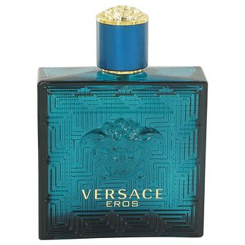 Versace Eros Eau De Toilette Spray (Tester) By Versace For Men