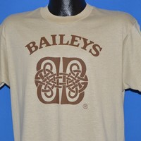 80s Bailey's Irish Liqueur t-shirt Large