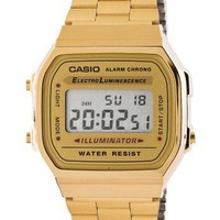 American Apparel - A168WG9-A Casio Stainless Steel Digital Watch