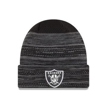 Oakland Raiders NFL17 Sideline Cuffed Knit Hat By New Era